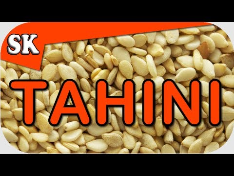 how to make unhulled tahini