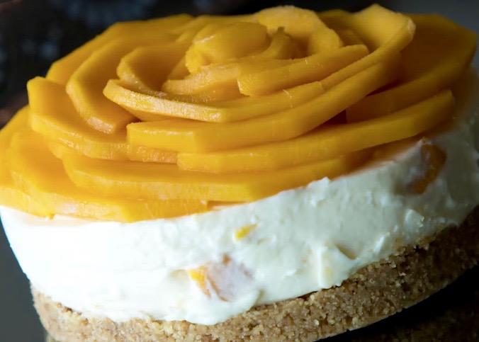 Mango Cheesecake05