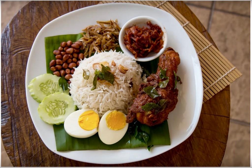 How to make Nasi Lemak - Steve's Kitchen