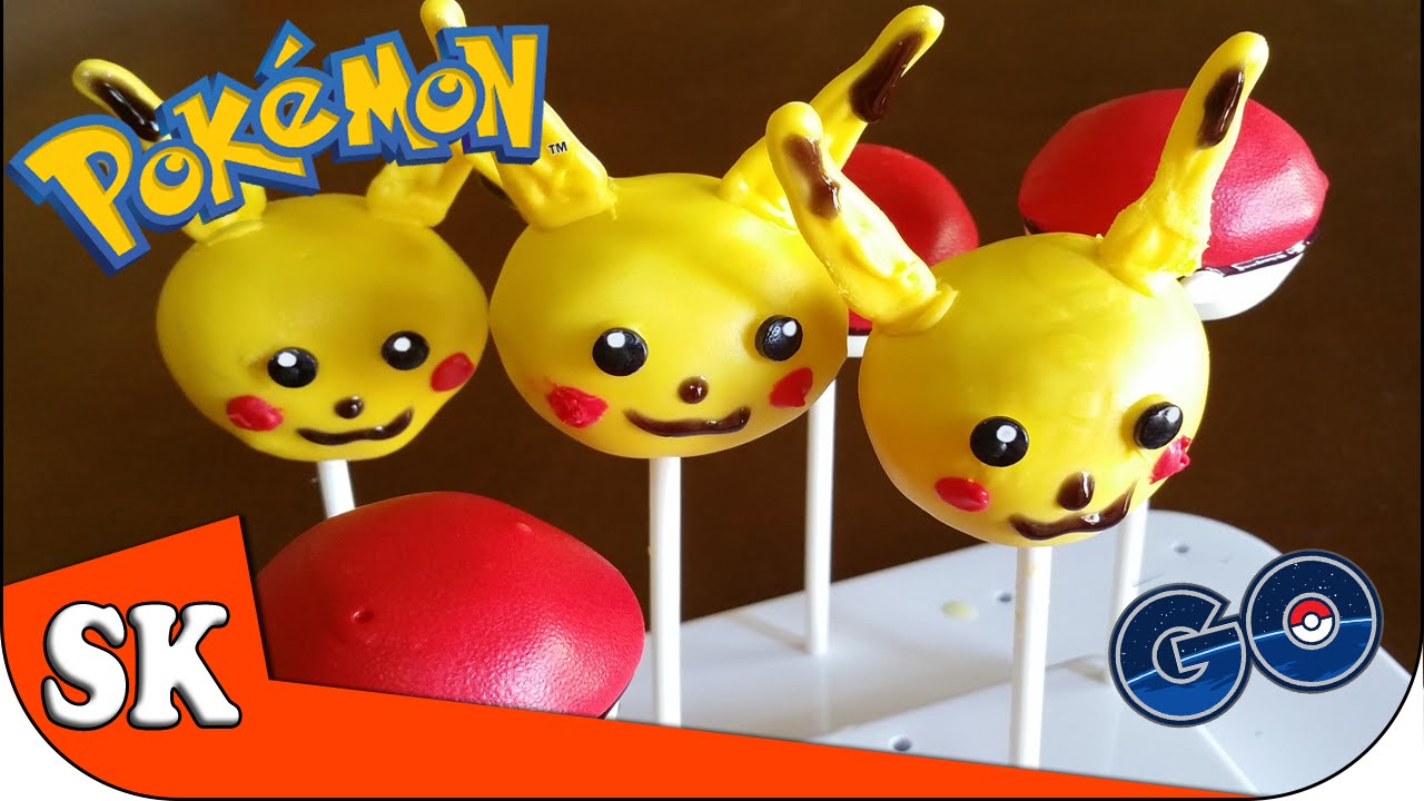 Pikachu Pok 233 Mon Go Cake Pop Ft Funfoods Steve S Kitchen