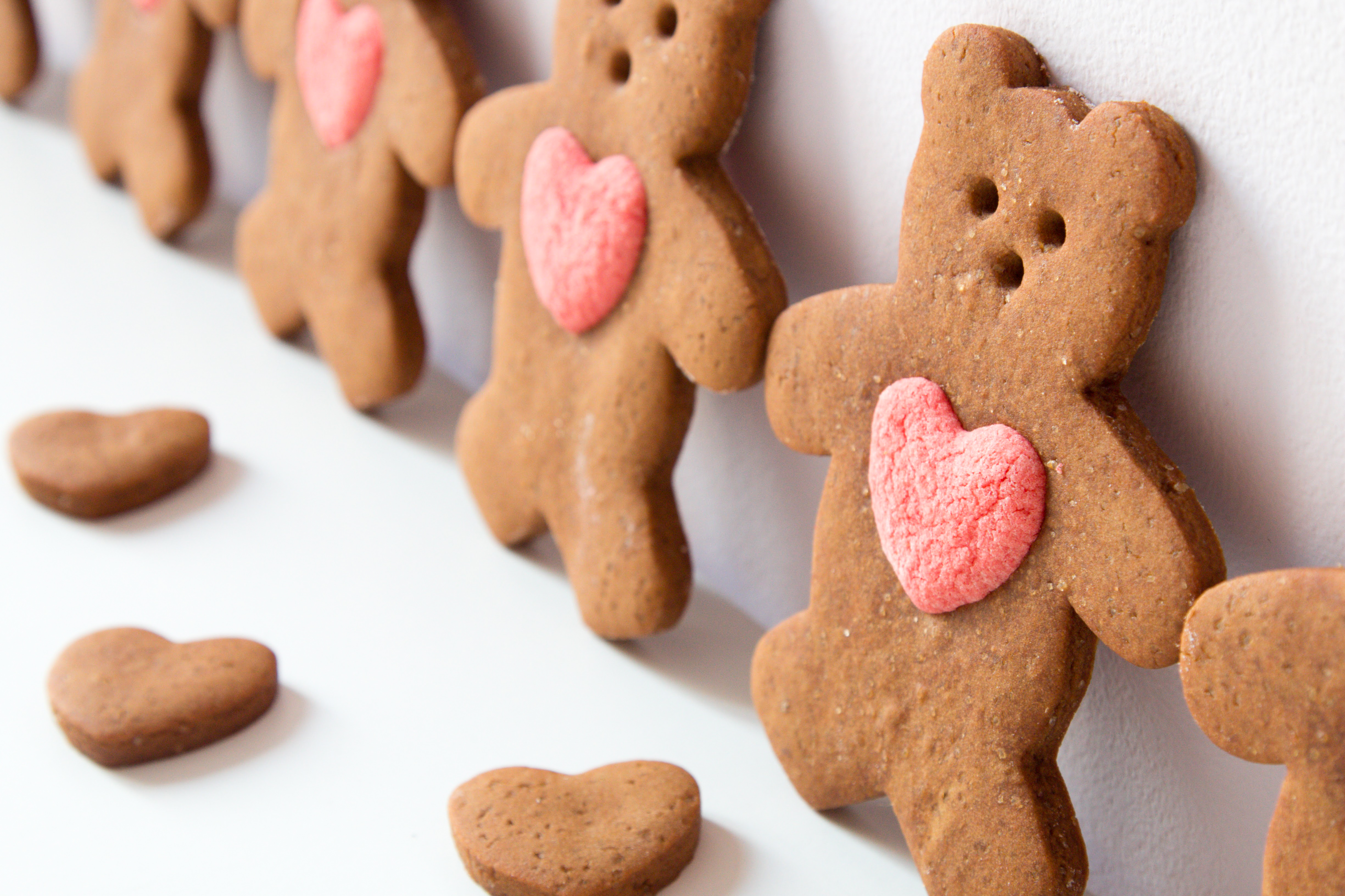 I Love You Gingerbread Teddy Valentine Cookies Steve S Kitchen