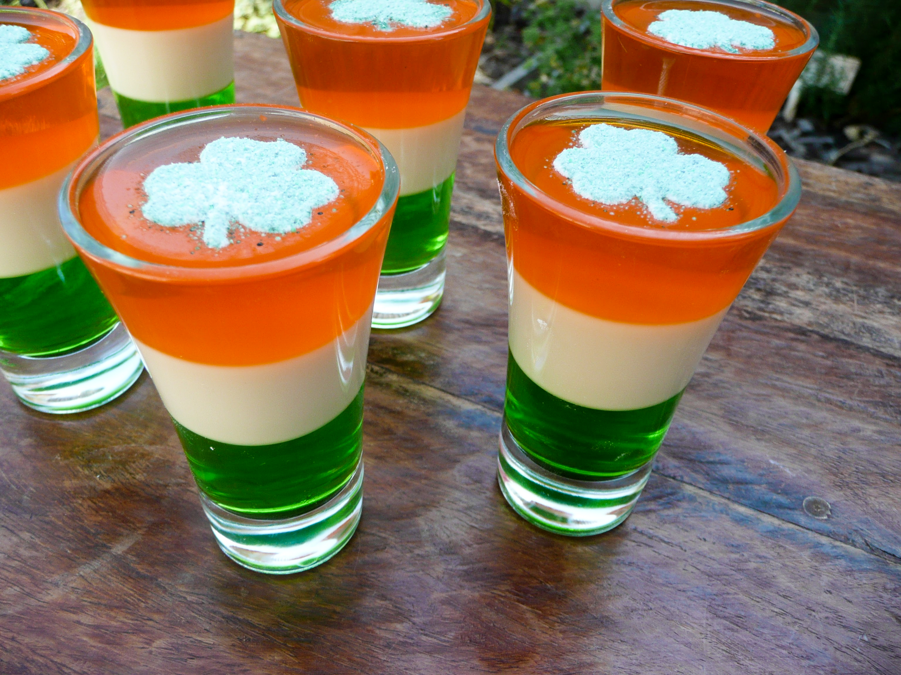 how to make baby guinness jello shots