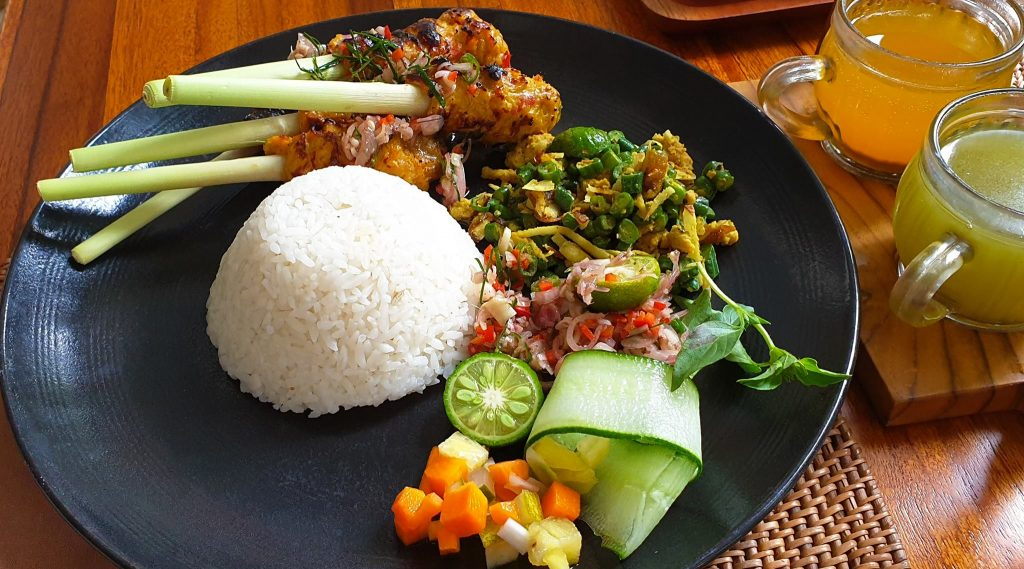 Delicious Balinese Satay Lilit