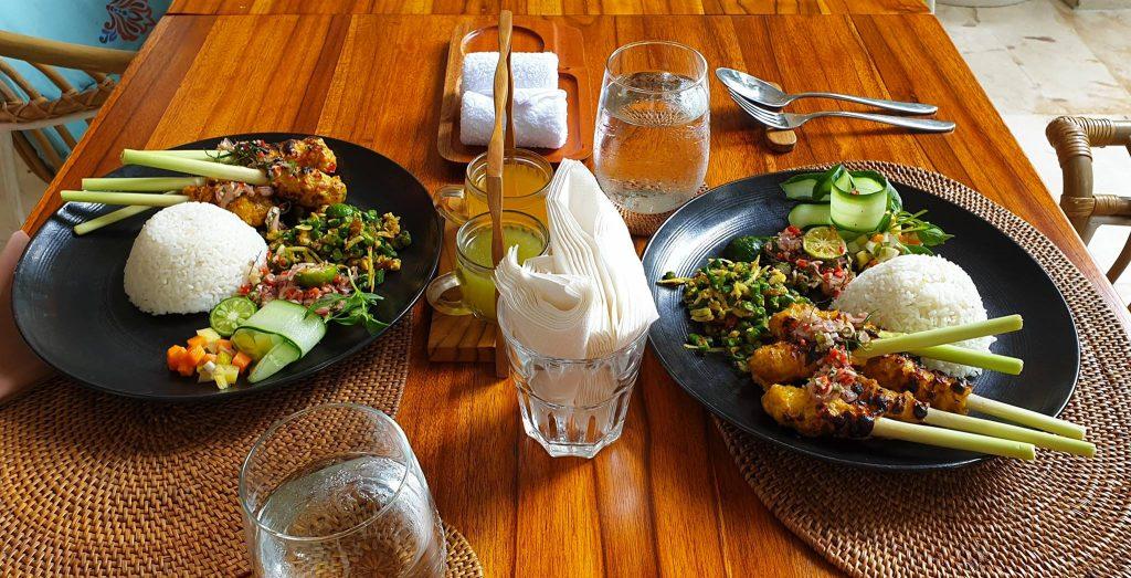 Balinese Satay Lilit with Sambal Matah