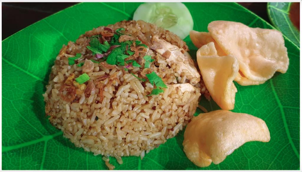 Authentic Nasi Goreng in Bali